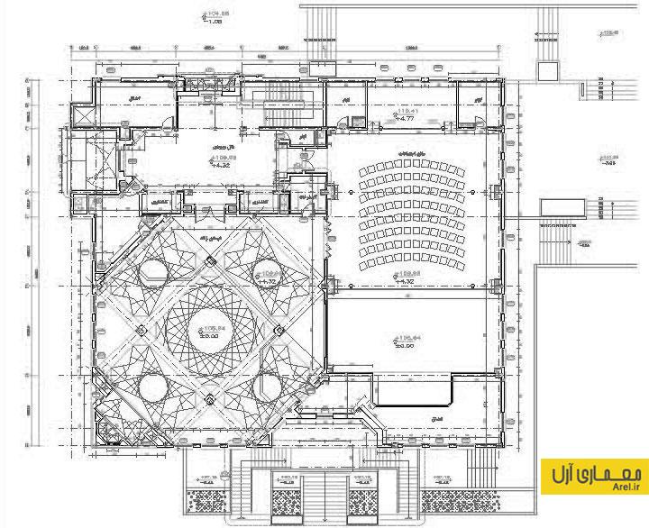 دانلود پلان و نقشه فاز 2 مسجد النبی در ولنجک