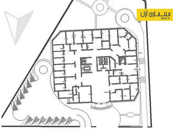 دانلود پلان و نقشه ساختمان مجتمع تجاری