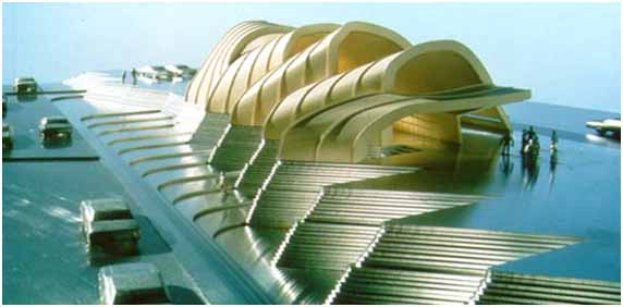 Image result for سبک معماری پارامتریک _ معماری قرن بیست و یکم