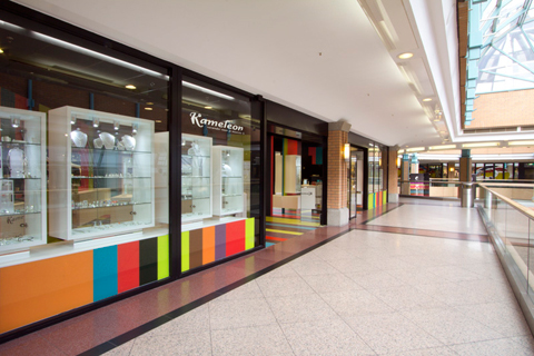 طراحی داخلی فروشگاه ، دکوراسیون مغازه جواهر فروشی ، دکور مغازه