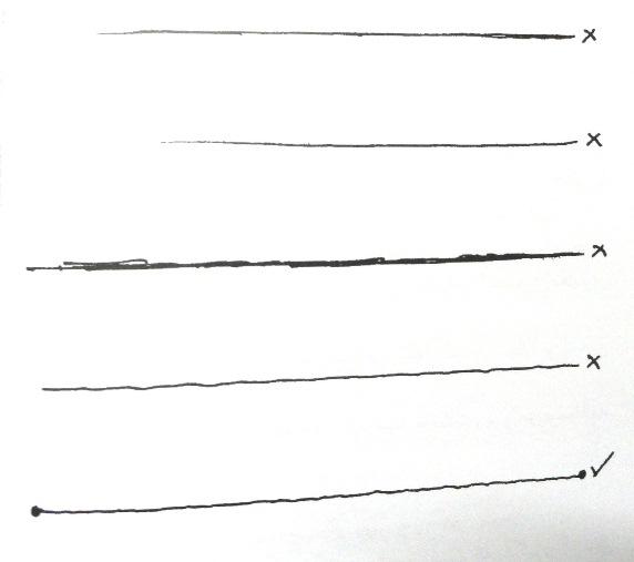 آموزش اسکیس ، تعریف خط