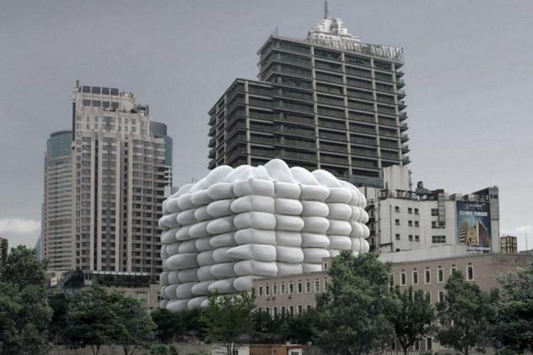 ساختمان بادی آنتیباکتریال، راهکار معماران برای مقابله با آلودگی هوا در شهر