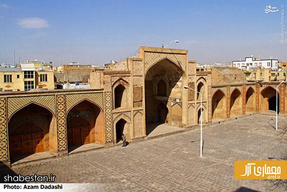 مسجد جامع قزوین،مسجد عتیق
