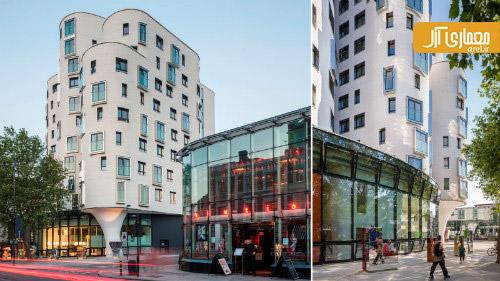 برترین معماری 2013 ،کتابخانه کلافام، لندن، انگلستان
