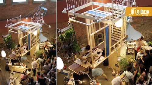 برترین معماری 2013 ،نافرمان های IKEA، اجرا شده در MoMA PS1، نیویورک