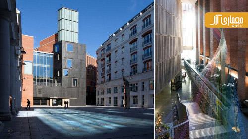 برترین معماری 2013 ،مرکز هنرهای متروپولیتن، بلفاست، ایرلند شمالی