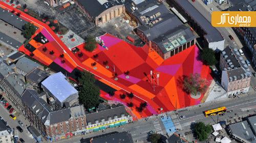 برترین معماری 2013 ،Superkilen، کپنهاک، دانمارک