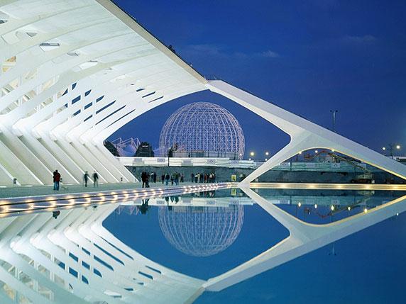 معماری مدرن اسپانیا