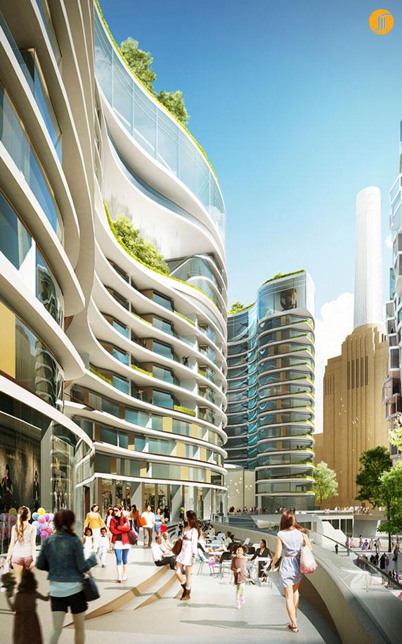 طراحی مجتمع مسکونی،معماری مجتمع مسکونی،طراحی نورمن فاستر،طراحی فرانک گهری