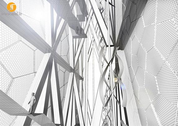معماری موزه، طراحی موزه،طراحی نمای موزه،موزه ملی تایوان