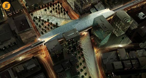 معماری ترمینال،معماری ایستگاه مترو،طراحی ایستگاه مترو