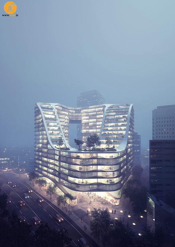 معماری،معماری مجتمع مسکونی،معماری مجتمع چند منظوره