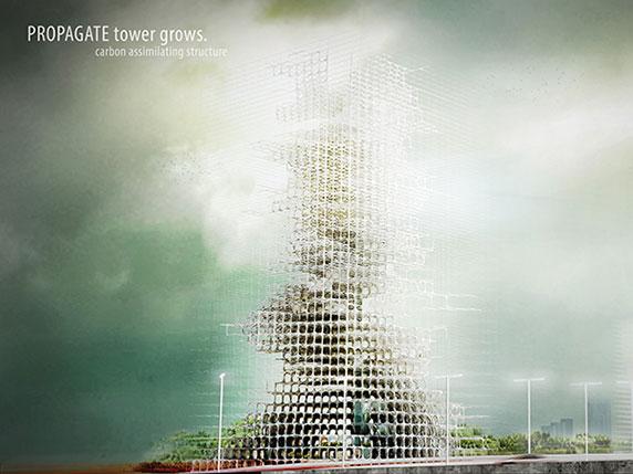 ساختمان هایی که با کربن رشد می کنند،ساختان سازی،معماری ساختمان