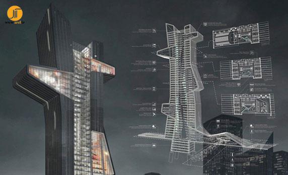 معماری،معماری برج،معماری ساختمان،مدرسه معماری