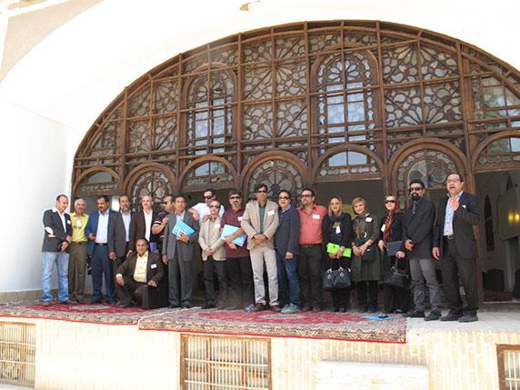 همایش دانش آموختگان و دانشجویان دانشکده معماری دانشگاه یزد