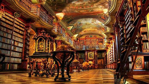 مکان های دیدینی دنیا، کتابخانه های بزرگ دنیا
