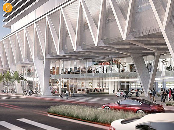 معماری ترمینال،معماری پایانه مسافربری،طرح ترمینال،طرح پایانه مسافربری
