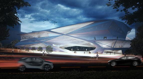 معماری،معماری موزه،معماری مرکز فرهنگی،طراحی مرکز فرهنگی