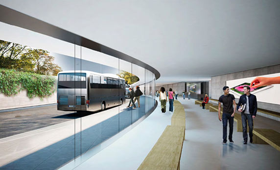 معماری مرکز جدید اپل، معماری ساختمان اپل