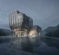 معماری جدید زاها حدید،zaha hadid