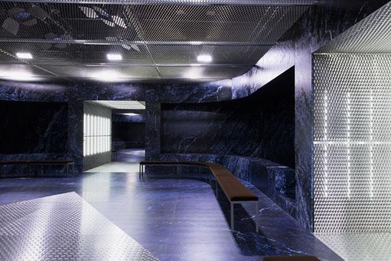 طراحی داخلی Showroom،معماری رم کولهاس،طراحی داخلی نمایشگاه