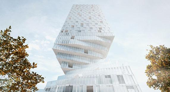 انتخاب MVRDV،به عنوان معمار برج پیچشی شهر وین