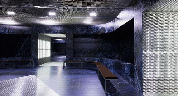 طراحی قصر بینهایت توسط OMA برای شو پاییزه/زمستانه برند prada