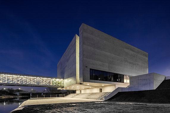 طراحی نما،معماری مدرن،معماری فضای فرهنگی،طراحی نمای مدرن