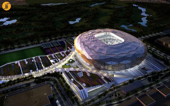 معماری ورزشگاه،معماری فضای ورزشی،ساختمان ورزشی،معماری استادیوم قطر
