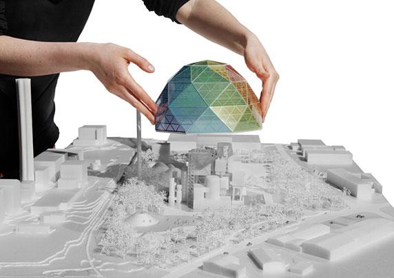 طرح پیشنهادی گروه بیگ برای نیروگاه شهر اوپسالا