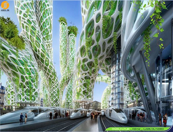 معماری شهری،معماری منظر،معماری،معماری شهر پاریس،معماری آینده
