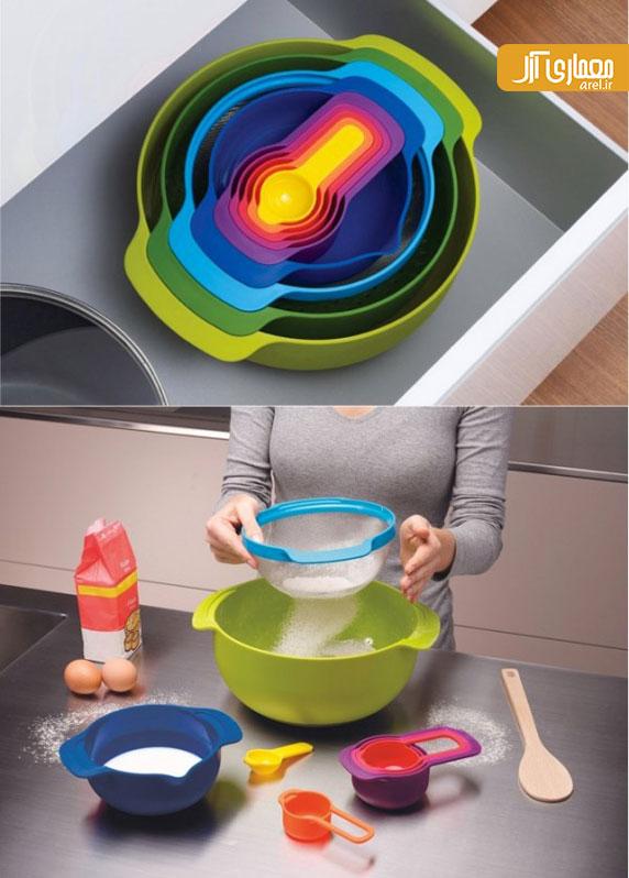 طراحی داخلی آشپزخانه: لوازم خانه و آشپزخانه خلاقانه ( بخش اول )