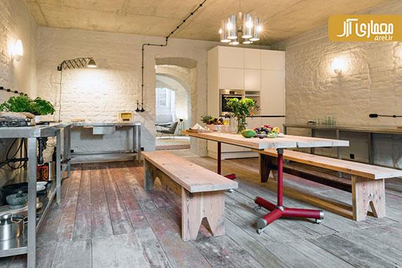 طراحی داخلی آپارتمان به سبک دکوراسیون مدیترانه ای