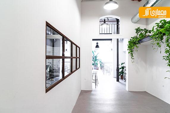 طراحی داخلی رستوران و کتابخانه Wer Haus