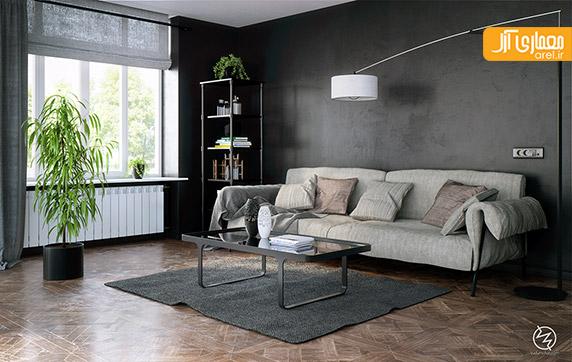 طراحی داخلی اتاق نشیمن،طراحی داخلی منزل مدرن