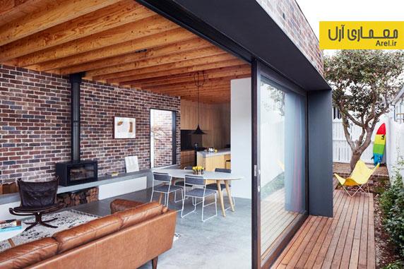 طراحی داخلی آپارتمان روشن و مدرن برای یک زوج جوان