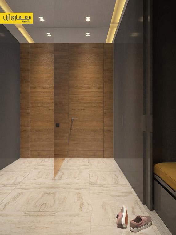 طراحی داخلی آپارتمان یک خوابه،دکوراسیون آپارتمان یک خوابه