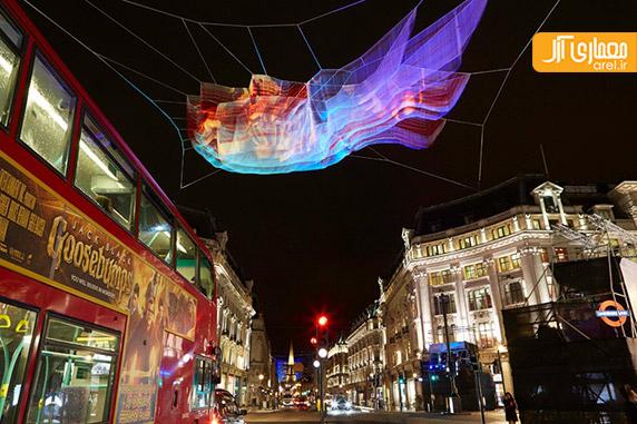 تصاویر فستیوال نور لندن 2016