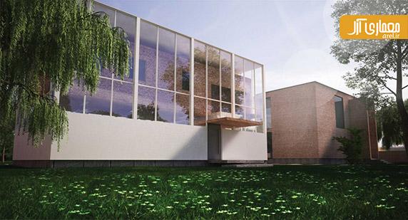 معماری ویلا،طراحی نمای ویلا،علیرضا تغابنی