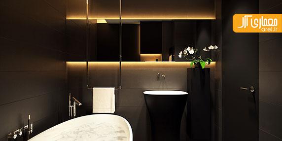 قسمت اول: طراحی داخلی منزل به سبک مینیمال با ترکیب رنگ های سفید و سیاه
