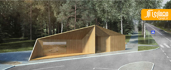 طراحی ایستگاه های اتوبوس برای اتصال 6 دهکده ی دور افتاده ی کشور  لیتوانی