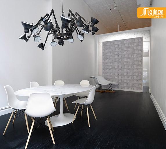 طراحی داخلی دفتر کار مدرن