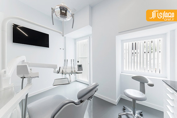 طراحی داخلی کلینیک دندانپزشک