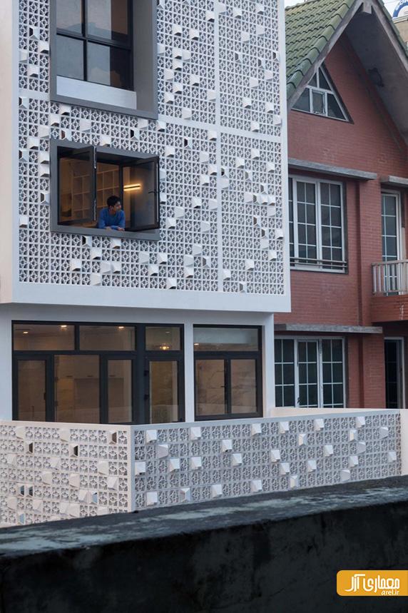 معماری و طراحی داخلی خانه Cocoon House