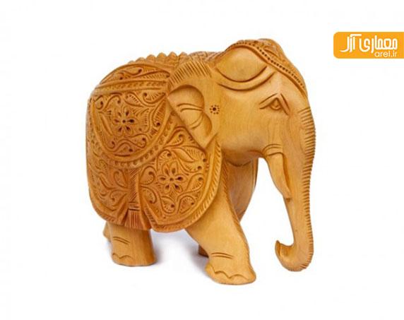 بخش اول: 25 نمونه طراحی مجسمه و لوازم دکوری خانه به شکل فیل