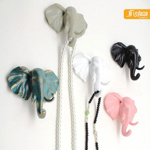 بخش دوم: 24 نمونه طراحی مجسمه و لوازم دکوری خانه به شکل فیل