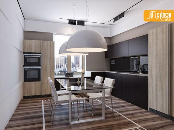 نگاهی به طراحی داخلی 2 آپارتمان با تم رنگ طوسی