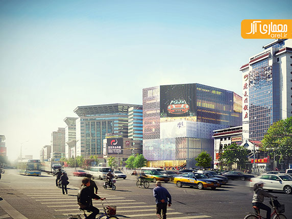 گروه معماری MVRDV و طراحی مرکز تجاری M-cube  در پکن