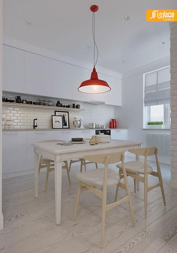 طراحی داخلی 4 آپارتمان به سبک اسکاندیناوی