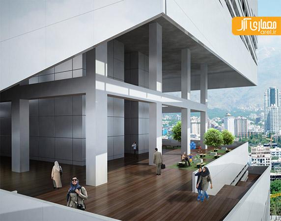 معماری ساختمان تجاری سپهر،رضا دانشمیر